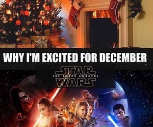december and star wars image