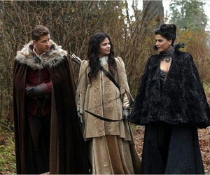 once upon a time, prince charming, and regina image