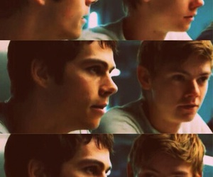 newt, thomas, and dylano'brien image