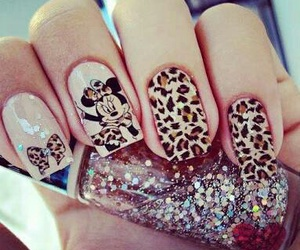 beauty, minnie, and nails image