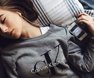 grey, Calvin Klein, and girl image