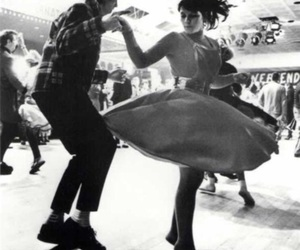 couple, dance, and vintage image