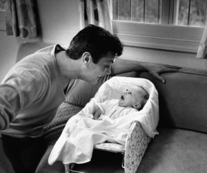 baby and dad image