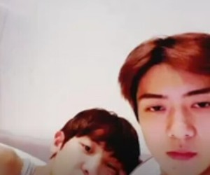 exo, liveatvapps, and sehun image