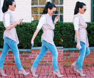 december, jeans, and ripped jeans image