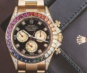 rolex, luxury, and watch image