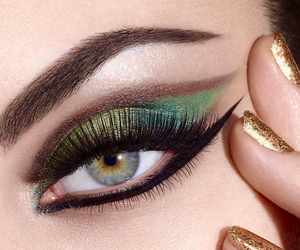 eye, l'oreal paris, and makeup image