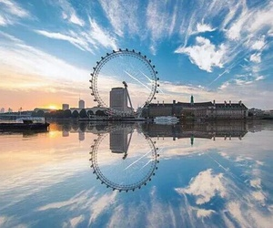 beautiful, london eye, and london image