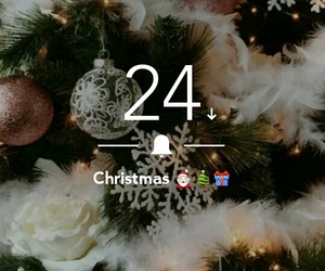 24, countdown, and holiday image