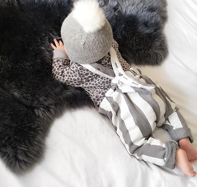 babies, baby, and fur image