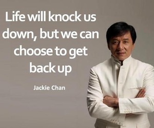 quotes, jackie chan, and continue image