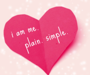 heart, simple, and me image