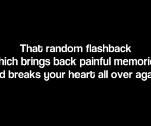 memories, quote, and flashback image