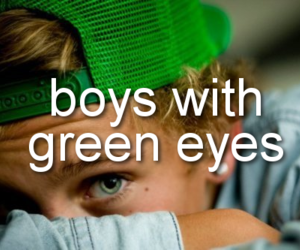 boys, green, and Hot image