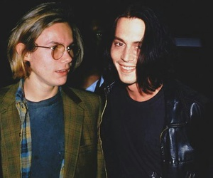 johnny depp, river phoenix, and manip image