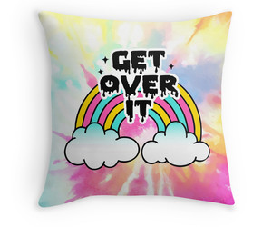 bedroom decor, funny, and get over it image
