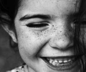 smile, child, and freckles image