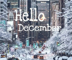backround, city, and december image