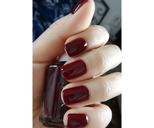 fashion, nails, and red image