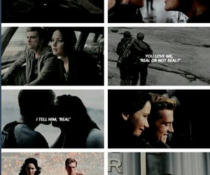 real, the hunger games, and everlark image