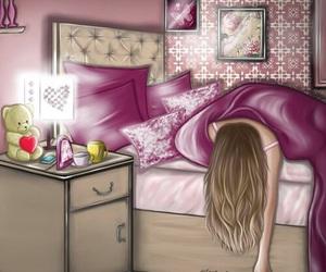 sleep, anime, and art image