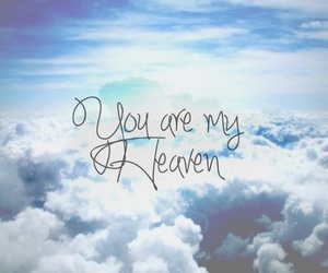 heaven, love, and sky image