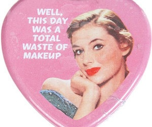 vintage, makeup, and waste image