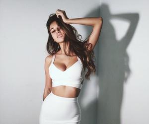 girl, fashion, and white image