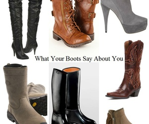 boots and personality image