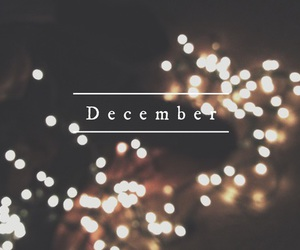 december and lights image