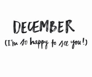 december, winter, and quotes image