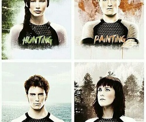 katniss, peeta, and finnick image