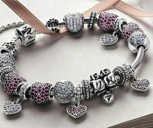 bracelet, pandora, and love image