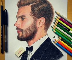 draw and christian grey image