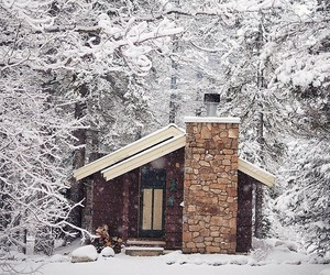 house and winter image