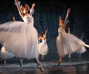 ballerina, ballet, and colorful image