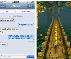 funny, lol, and temple run image
