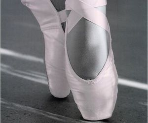 ballet, pink, and black and white image