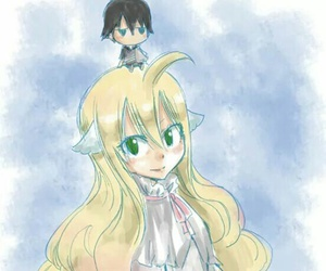mavis, fairy tail, and zeref image