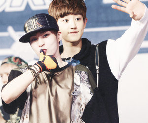 exo, chanyeol, and xiumin image