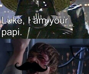 star wars, funny, and darth vader image