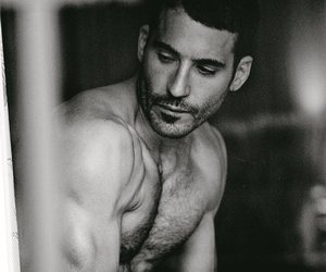 black and white, miguel silvestre, and miguel angel silvestre image