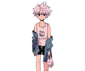 anime, killua, and drawing image