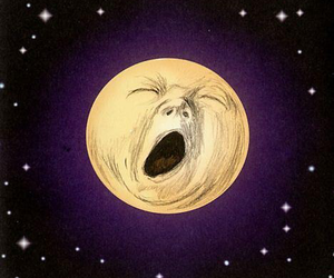 dormir, full moon, and funny image