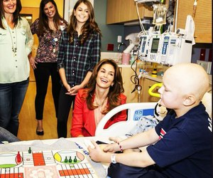 cancer, child, and cindy crawford image
