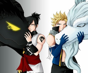 fairy tail, anime, and sting image