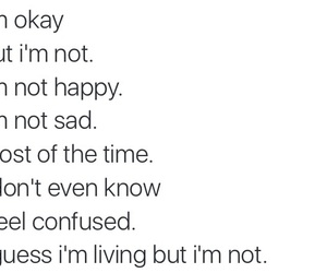 confused, feelings, and quotes image