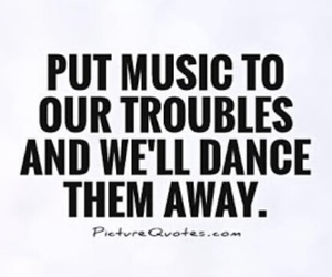 dance, music, and trouble image