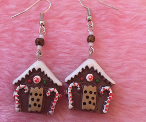 etsy, gingerbread house, and ginger bread house image