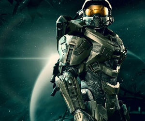 master chief and halo 4 image